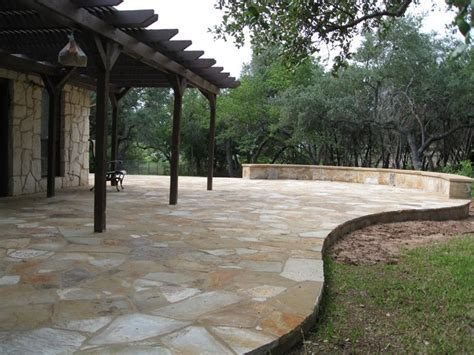 best 25 flagstone patio ideas only on