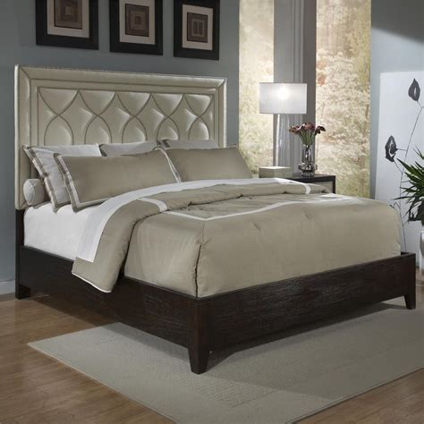 elegant french couture leather king size bed beds bed