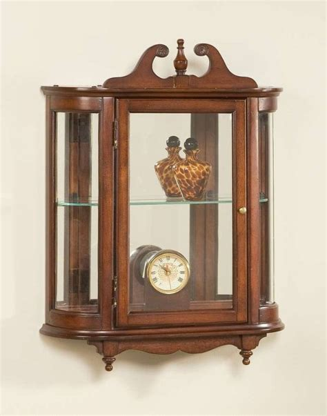 wall display cabinets for sale antique curio cabinets with curved glass a beauty over ages