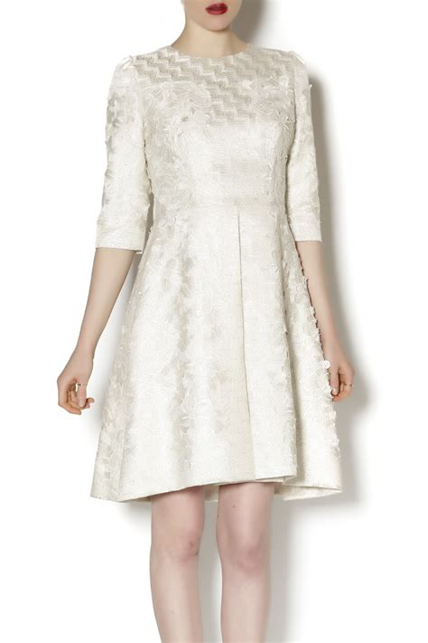 Brocade Lace miri brocade and lace dress from island by miri