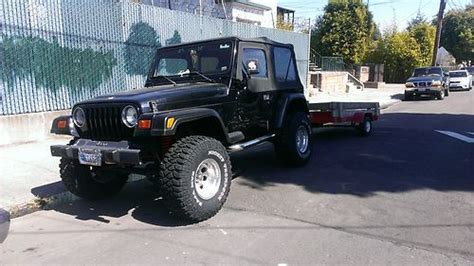 1999 Jeep Wrangler Soft Top Buy Used 1999 Jeep Wrangler Soft Top 2 Door 4 0l In