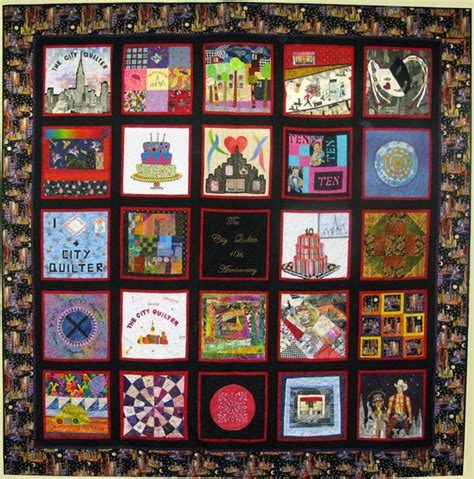 the city quilters 10th anniversary