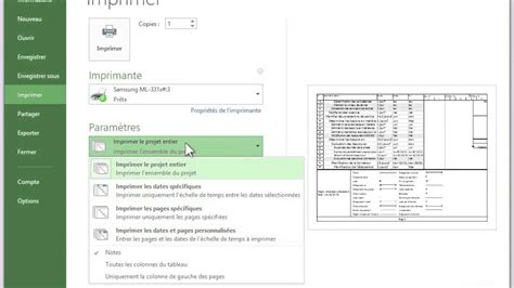 imprimer diagramme de gantt ms project comment imprimer un diagramme de gantt images how to