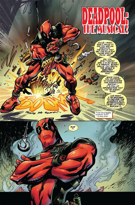 deadpool by daniel way deadpool 49 1 preview deadpool bugle