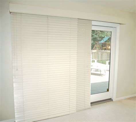Horizontal Blinds For Sliding Glass Doors by Glider Blinds Track System For Horizontal Blinds Window