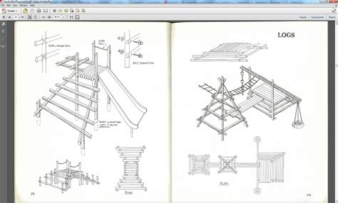 create a blueprint free do it yourself playground plans pdf diy wood