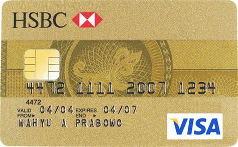 kartu kredit gold beranda hsbc visa mastercard gold duitpintar com