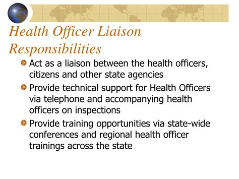 ppt the of the nh health officer in the community
