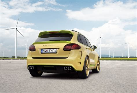 lemon car lemon porsche cayenne vantage 2 by top car autoevolution