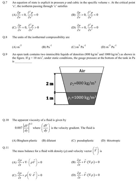 Chemical Engineering Mba Questions by Gate 2013 Question Papers With Answers Chemical