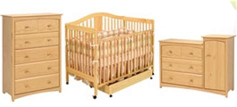 nursery crib sets in light wood simply baby furniture