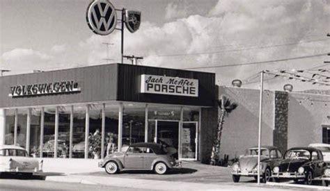 vw porsche dealer garage gas station gaspump