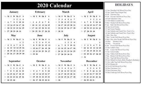 printable sri lanka calendar   excel word format printable february calendar
