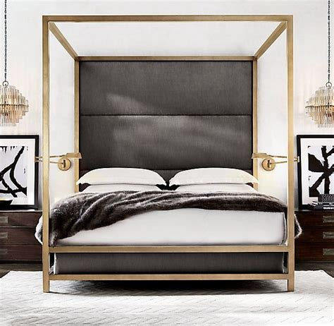 Bed Frame With Soft Headboard by 25 Best Ideas About Modern Beds On Bed