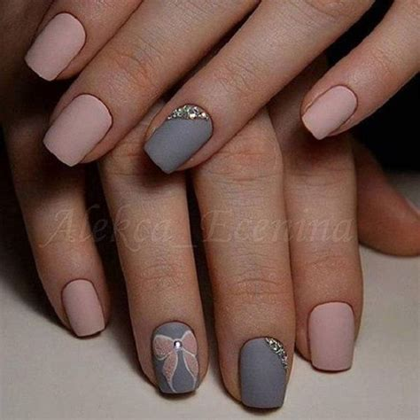 grey pattern nails 35 nail designs for winter grey nail polish winter nail