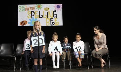 Giveaway Spelling - how to run a spelling bee kidspot