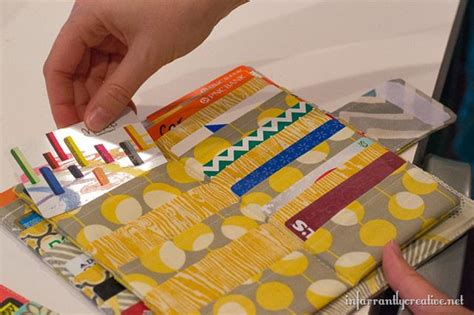 Gift Card Wallets - mega credit card wallet sewing tutorial infarrantly creative