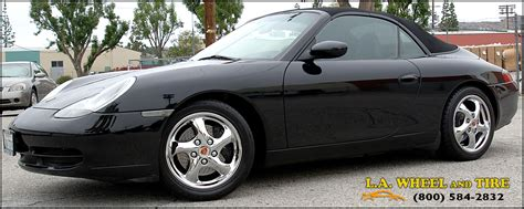 chrome porsche l a wheel chrome oem wheel experts porsche install