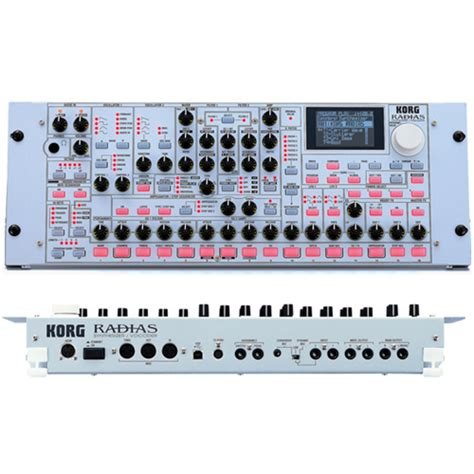 Rack Synth by Korg Radias Rack Synthesizer At Gear4music