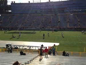 Section 115 Lambeau Field by Lambeau Field Section 115 Rateyourseats