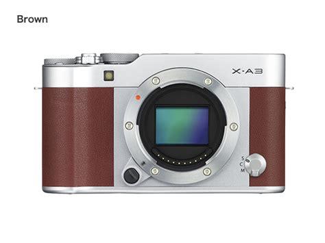 Lcd Fujifilm Xa3 fujifilm x a3 xa3 16 50mm 32gb brown silver