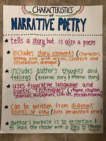 25 best ideas about narrative poetry on 6th