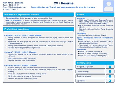 powerpoint templates for visual resume professional cv template resume template in powerpoint