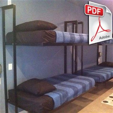 welding bed blueprints diy folding bunk bed plans diy welding plans cing pinterest bed plans