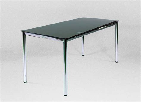 glass office desk black glass desk for your home office