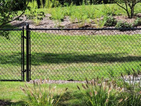chain link fence chain link fence fence consultants of west michigan
