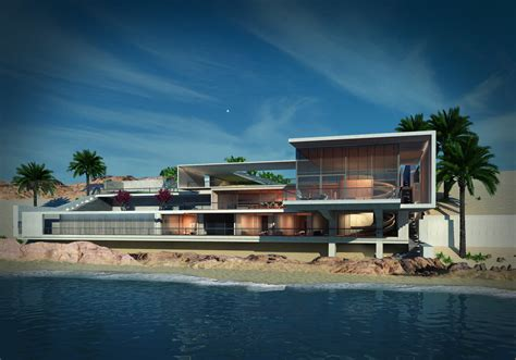 house beach luxury lifestle