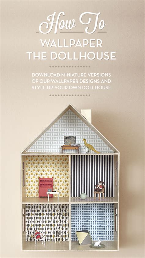 free doll houses how to wallpaper a dollhouse free printable paper most popular