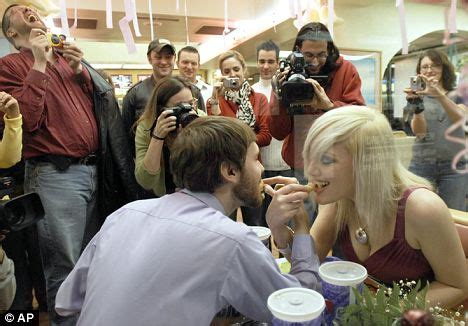 couple wedding photos at taco bell video the sweetest lil fast food weddings truly engaging