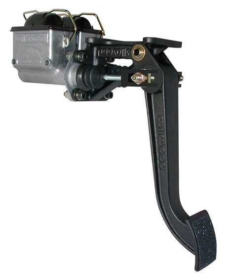 swing car assembly wilwood quot super pedal dual master brake pedal assembly
