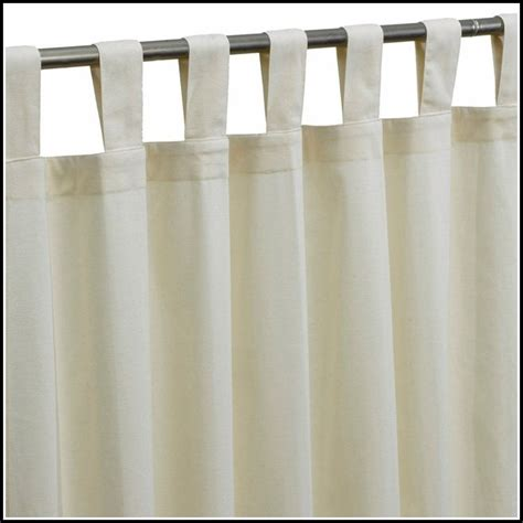 White Tab Top Curtains Blackout Curtains White Cotton Curtains Home Design Ideas Kvnd99ld5w27759