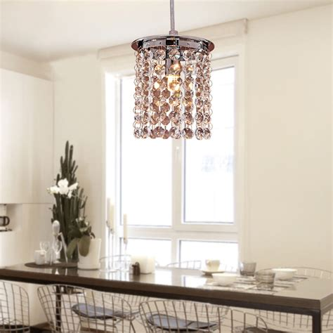 Crystal Ceiling Light Modern Chandelier Pendant Kitchen Kitchen Pendant Ceiling Lights