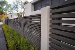 contemporary fences