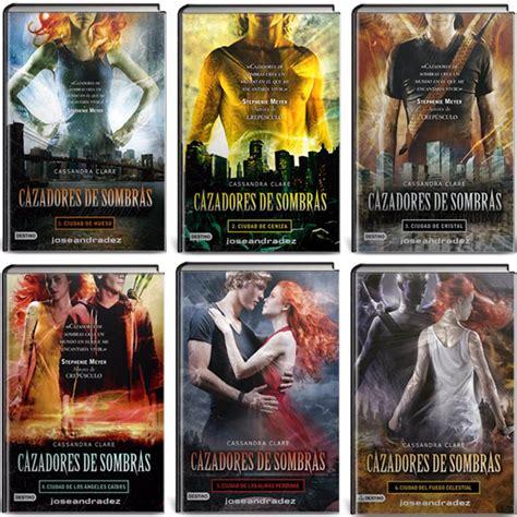 cazadores de sombras la saga libros fisicos individual bs 3 000 000 00 en mercado libre