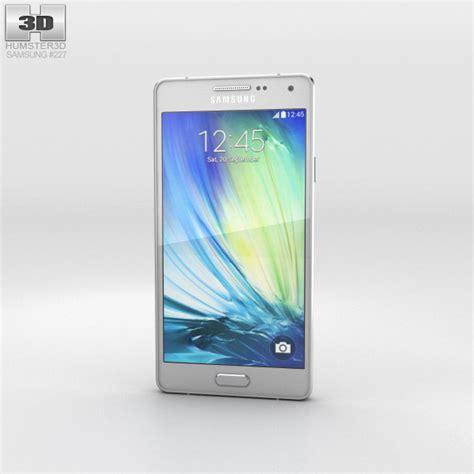 Samsung A3 Platinum Silver Samsung Galaxy A3 Platinum Silver 3d Model Hum3d