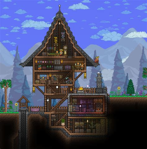 Terraria House Terraria House And Gaming House Layout Terraria