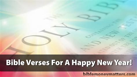 new year bible verse bible verses for a happy new year