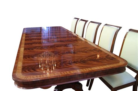 Large Dining Room Table Seats 16 High End Large Mahogany Dining Table Seats 12 16 Ebay