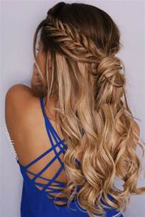 hairstyles to do with plaited extensions 25 best ideas about fishtail bun on pinterest fishtail