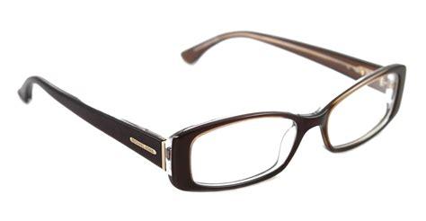 new michael kors eyeglasses mmk 220 brown 210 mmk220 auth