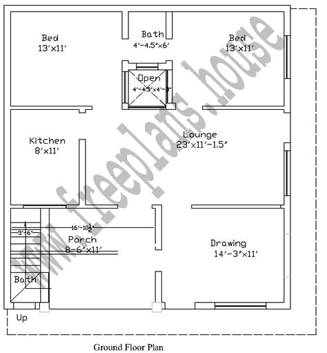 40 square meters to feet 50 square meter house floor plan