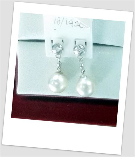 anting mutiara emas 0070 south sea pearl necklace price