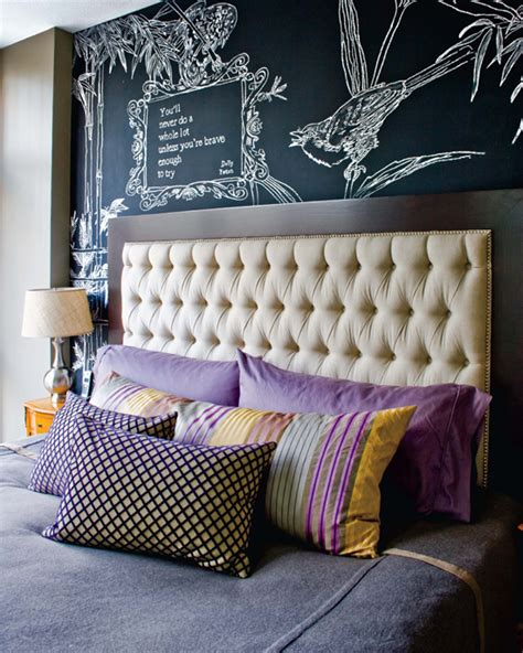 diy chalkboard headboard 50 chalkboard wall paint ideas for your bedroom