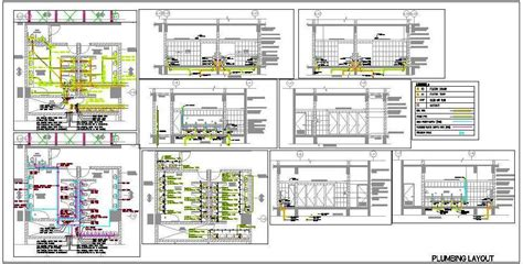 Commercial Floor Plan Software toilet plumbing design supply drainage system plan n