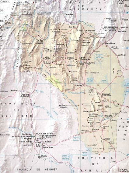 la rioja province argentina junglekey com image la rioja province map argentina