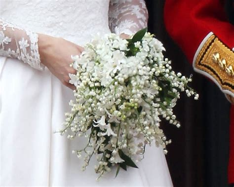 Wedding Bouquet Of Kate Middleton kate middleton and prince william s wedding facts and photos